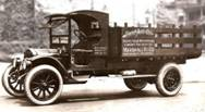 Antique delivery truck photo